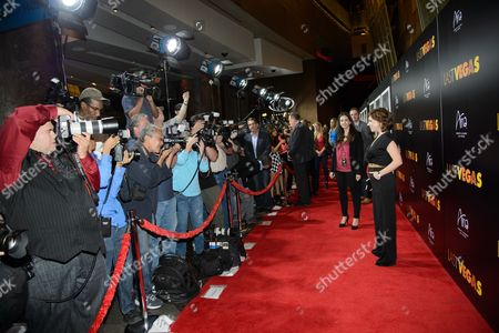 Stock Picture of Actress Ashley Spillers arrives at the after party for a screening of CBS Films' 'Last Vegas' at Haze Nightclub at the ARIA Resort & Casino at CityCenter on in Las Vegas, Nevada