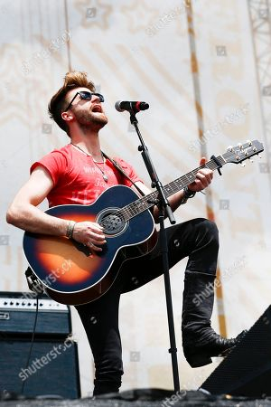 Colton Swon of The Swon Brothers performs at Riverfront Stage at the CMA Music Festival, in Nashville, Tenn