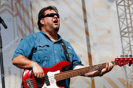 Stock Image of Dana Williams of Diamond Rio performs at the Riverfront Stage at the CMA Music Festival, in Nashville, Tenn