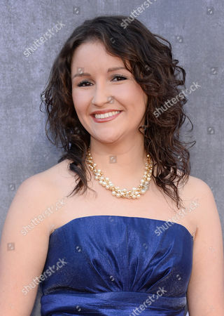 Stock Image of Ashton Shepherd arrives at the 49th annual Academy of Country Music Awards at the MGM Grand Garden Arena, in Las Vegas