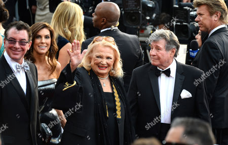 Gena Rowlands, left, and Robert Forrest arrive at the Oscars, at the Dolby Theatre in Los Angeles