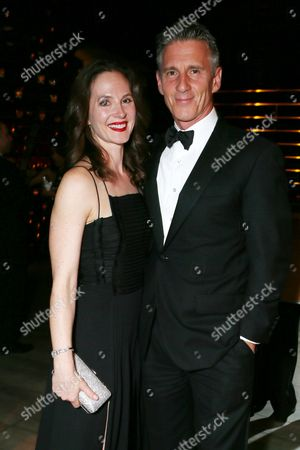 Christopher Stanley, left, and Kim Stanley attend the AMC, IFC, Sundance Channel Emmy After Party, on in West Hollywood, Calif