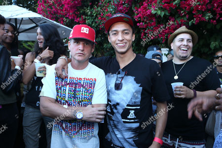 Rob Dyrdek and Nyjah Huston at Asphalt Yacht Club Launch Event on in Malibu, CA