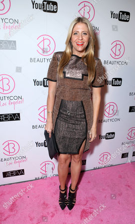 Stock Photo of Style Expert Lindsay Albanese at Beautycon 2013 VIP Influencers Welcome Event at YouTube on in Los Angeles