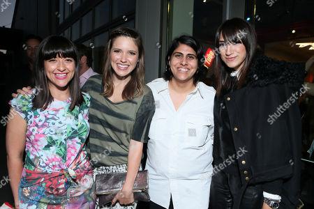 Alisa Gould Simon, Sophia Bush, CEO of Made With Elastic Moj Mahdara and Mandana Dayani at Beautycon 2013 VIP Influencers Welcome Event at YouTube on in Los Angeles