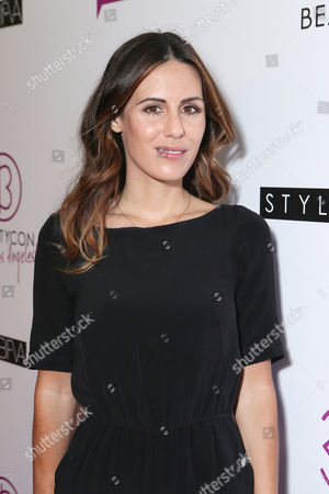 Stock Picture of Blogger Sarah Howard at Beautycon Los Angeles 2013 Day 2 held at Siren Studios on in Los Angeles