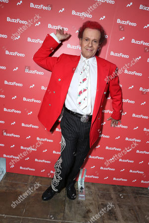 Richard Simmons at BuzzFeed LA's Office Grand Opening, on in Los Angeles