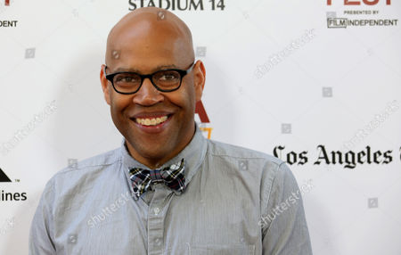 "Stock Picture of Kevin Jerome Everson at The LA Film Festival's gala screening of ""Fruitvale Station"" at the Regal Cinemas on in Los Angeles"