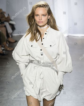 Editorial photo of Zadig & Voltaire show, Runway, Spring Summer 2018, New York Fashion Week, USA - 11 Sep 2017