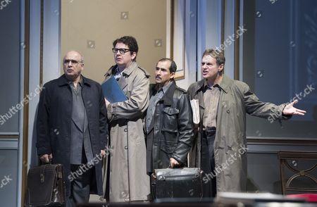 Peter Polycarpou as Ahmed, Thomas Arnold as Ron Pundak, Nabil Elouahabi as Hassan, Paul Herzberg as Yair