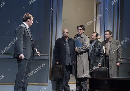 Toby Stephens as Terje Larsen, Peter Polycarpou as Ahmed, Thomas Arnold as Ron Pundak, Nabil Elouahabi as Hassan, Paul Herzberg as Yair