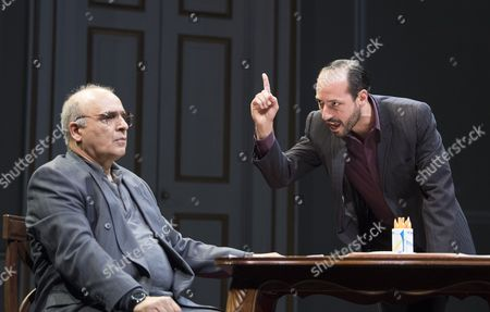 Peter Polycarpou as Ahmed, Philip Arditti as Uri Savir