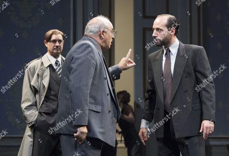 Daniel Stewart as an American Diplomat, Peter Polycarpou as Ahmed, Philip Arditti as Uri Savir