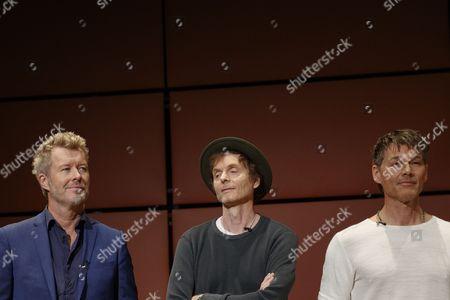 Magne Furuholmen, Paul Waaktaar-Savoy and Morten Harket