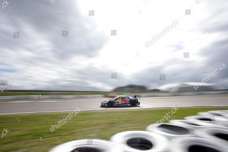 Stock Photo of Mattias Ekstroem (SWE#5) Audi Sport Team Abt Sportsline, Red Bull Audi RS 5 DTM