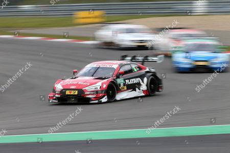Nico Mueller (CH#51) Audi Sport Team Abt Sportsline, Playboy Audi RS 5 DTM