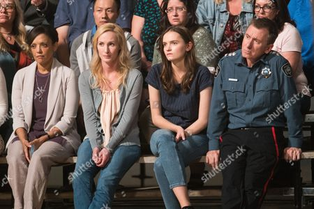 Stock Image of Rachael Crawford, Genevieve O'Reilly, Abigail Lawrie, Tim Roth