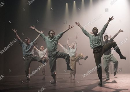 Editorial image of 'Grand Finale' Dance performed by Hofesh Shechter Dance Company at Sadler's Wells Theatre, London, UK, 12 Sep 2017
