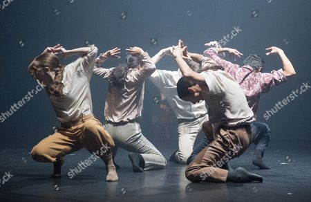 Stock Picture of 'Grand Finale' performed by Hofesh Shechter Dance Company
