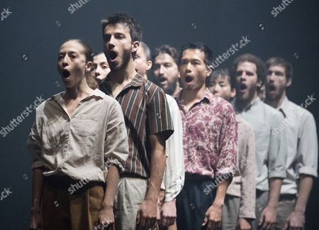 Editorial picture of 'Grand Finale' Dance performed by Hofesh Shechter Dance Company at Sadler's Wells Theatre, London, UK, 12 Sep 2017