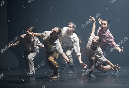 Stock Image of 'Grand Finale' performed by Hofesh Shechter Dance Company