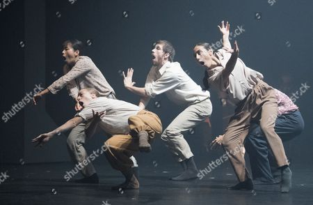 'Grand Finale' performed by Hofesh Shechter Dance Company