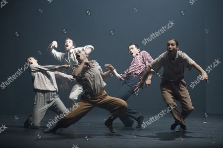 Stock Photo of 'Grand Finale' performed by Hofesh Shechter Dance Company