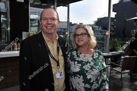 Stock Photo of Col Needham - IMDB, Wendy Mitchell - British Council
