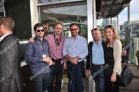 Roin Egan - Pinewood Studios, Keith Potter - Catalyst Global media, Will Machin - Metro INt'l, Nigel Bennett - Pinewood, Courtney Noble - Pinewood