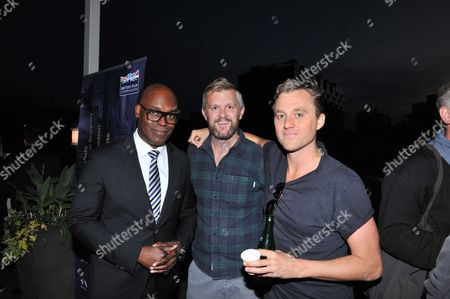 Cameron Bailey - TIFF, Ben Roberts, Michael Pearce - Director