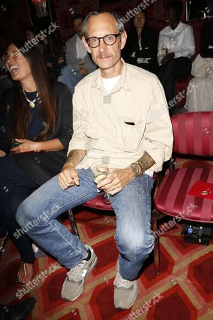 Terry Richardson in the front row