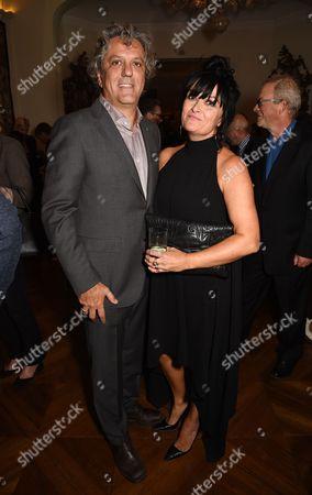 Stock Picture of Giorgio Locatelli and Plaxy Locatelli