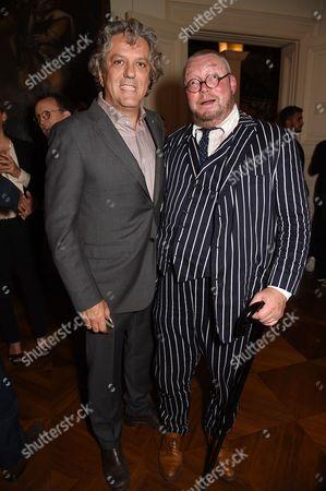 Giorgio Locatelli and Fergus Henderson