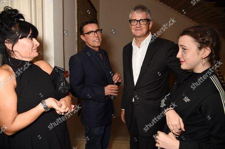Plaxy Locatelli, guest, Jay Jopling and Jessie Phoenix Jopling