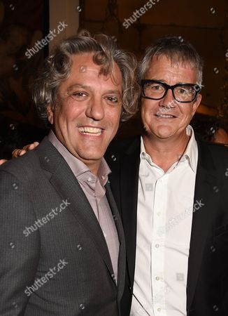 Giorgio Locatelli and Jay Jopling