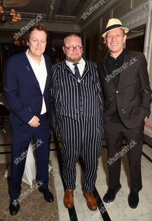 Tom Parker Bowles, Fergus Henderson and Paul Simonon