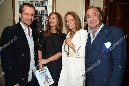 David Heyman, Rose Uniacke, Gala Wright and Guy Pratt