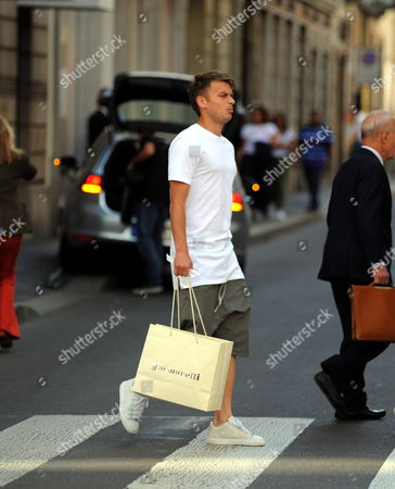 Editorial picture of Adem Ljajic out and about, Milan, Italy - 12 Sep 2017