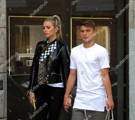 Editorial image of Adem Ljajic out and about, Milan, Italy - 12 Sep 2017
