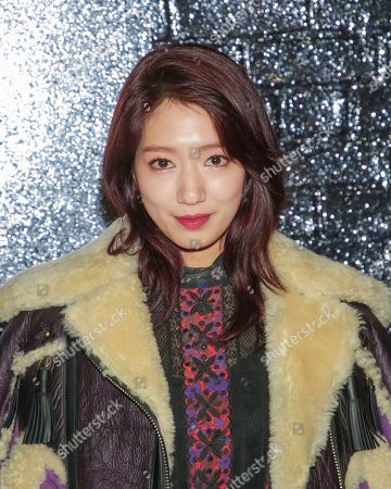 Actress Shin Hye Park attends the Coach 2018 Spring/Summer Presentation, in New York