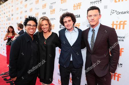 Angela Robinson, Writer/Director, Amy Redford, Producer, Terry Leonard, Producer, and Luke Evans