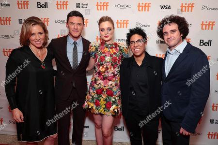 Amy Redford, Producer, Luke Evans, Bella Heathcote and Angela Robinson, Writer/Director, and Terry Leonard, Producer