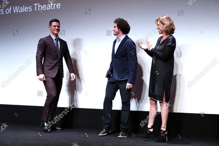 Luke Evans, Terry Leonard, Producer, and Amy Redford, Producer
