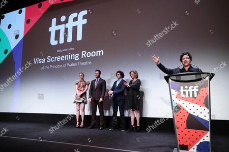 Bella Heathcote, Luke Evans, Terry Leonard, Producer, Amy Redford, Producer, and Angela Robinson, Writer/Director