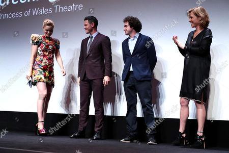 Bella Heathcote, Luke Evans, Terry Leonard, Producer, and Amy Redford, Producer