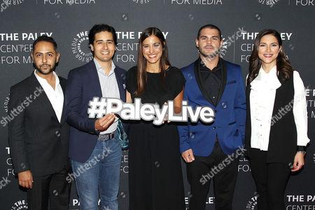 Humberto Busto, Christian Gabela, Camila Jimenez Villa, Marco de la O, Katiria Soto