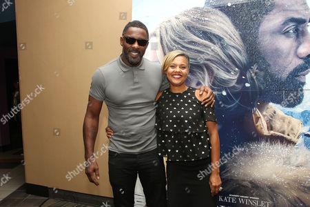 Idris Elba and Cori Murray (Entertainment Director; Essence)