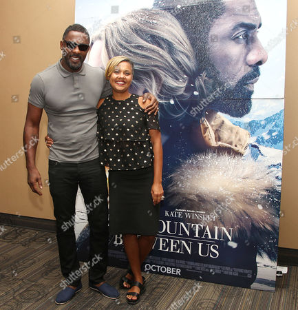 Editorial photo of Essence Magazine Presents a Q and A with Idris Elba for a New York Screening of Fox's 'The Mountain Between Us', USA - 12 Sep 2017