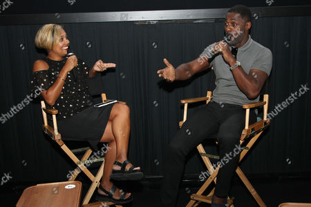 Editorial picture of Essence Magazine Presents a Q and A with Idris Elba for a New York Screening of Fox's 'The Mountain Between Us', USA - 12 Sep 2017