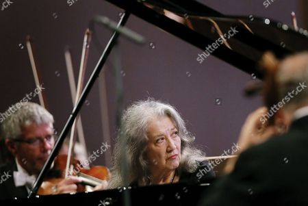 Editorial photo of George Enescu International Festival in Bucharest, Romania - 12 Sep 2017